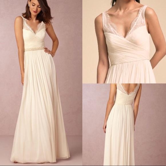 Bhldn Dresses Hithero Anthropologie Wedding Dress Size 6 Poshmark